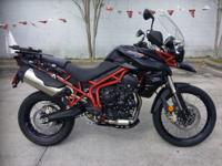 I currently have a 2014 Triumph Tiger 800 XC- ABS for