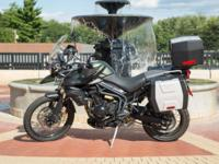 Up for sale is a very well cared for 2014 Triumph Tiger