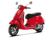 this sporty Vespa brings the most powerful