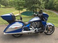 Sonic Blue & Silver 5,200 miles Excellent shape with