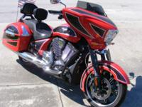 2014 Victory Ness Cross Country Limited Edition. This