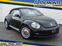 LOW MILES! This 2014 Volkswagen Beetle Convertible is a