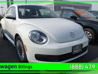 Pure White 2014 Volkswagen Beetle 1.8T FWD 5-Speed