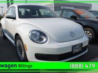 Pure White 2014 Volkswagen Beetle 1.8T FWD 5-Speed
