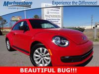 2014 Volkswagen Beetle 1.8T Entry Cloth. CARFAX