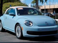 Options:  2014 Volkswagen Beetle Convertible 2.5L|Denim