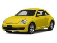 Load your family into the 2014 Volkswagen Beetle! The