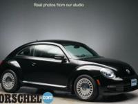 Certified!!Black 2014 Volkswagen Beetle 2.5L6-Speed