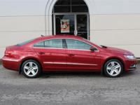 New Price! This 2014 VW CC SPORT 1-OWNER CARFAX Local
