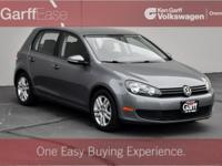 Clean Carfax 1 Owner! 2014 Volkswagen Golf 4 Door 2.5L!