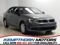One Owner. Jetta 2.0L S 2.0, 6-Speed Automatic, Power