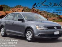 This 2014 Volkswagen Jetta S comes with Black cloth