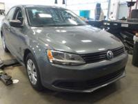 Gray 2014 Volkswagen Jetta 2.0L S FWD 6-Speed Automatic