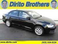 Black Jack!! VW certified. See how Dirito Brothers