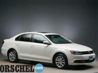 Certified with new tires!! White 2014 Volkswagen Jetta