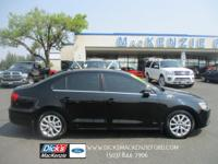 ONE-OWNER VW! Black Leather Heated Front Bucket Seats,