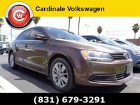 CARFAX One-Owner. Brown 2014 Volkswagen Jetta 2.0L TDI