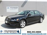 THIS PASSAT IS CERTIFIED! MULTI-POINT INSPECTED! BACKUP