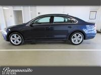 2014 VW Passat...Night Blue Metallic w/ Black