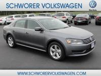 2014 Passat SE for only $21,950!  Great family size