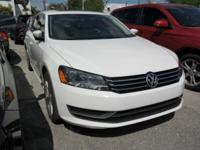 Passat 1.8T SE, 1.8L 4-Cylinder DOHC, and FWD. Moves at