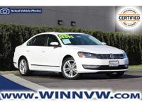 Passat 1.8T SEL Premium, Titan Black w/Partial Leather