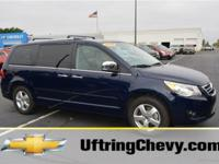 Exterior Color: blue, Body: Mini-Van, Engine: V6 3.60L,