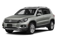 2014 Volkswagen Tiguan S AWD CLEAN CARFAX, AUTOMATIC,