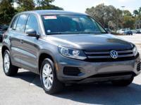 Options:  2014 Volkswagen Tiguan S|Pepper Gray