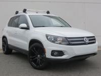 2014 Volkswagen Tiguan SE Certified. CARFAX One-Owner.