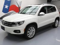 2014 Volkswagen Tiguan with 2.0L Turbocharged I4