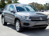 Options:  2014 Volkswagen Tiguan Se|Pepper Gray