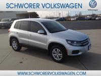 This 2014 Volkswagen Tiguan S is offered to you for