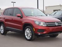 This turbocharged 2014 Volkswagen Tiguan comes with