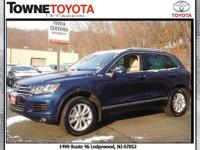 Load your family into the 2014 Volkswagen Touareg! It
