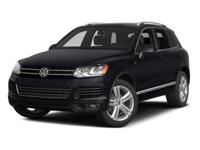 Options:  2014 Volkswagen Touareg 3.6L|Pure White/Black