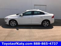 Options:  2014 Volvo S60|White|Leather. Get Hooked On