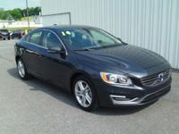 ONE OWNER!! 2014 VOLVO S60 T5!! FWD, 2.5L TURBOCHARGED,