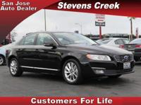 Options:  2014 Volvo S80 Sedan|Black|3.2L I6