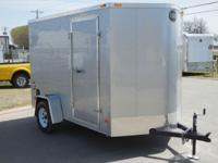 The mid-sized FastTrac 6' vast trailer is a wonderful