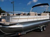 2014 Bentley 240 Fish Pontoon, choose your engine size