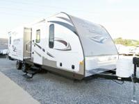 2014 White Hawk 27DSRB Super light weight. Theres a