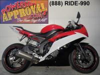 2014 Yamaha R6 Crotch Rocket for sale with only 2,842