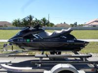 This is a gorgeous 2014 Yamaha FX SVHO Cruiser. This