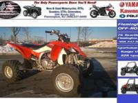-LRB-908-RRB-998-4700 ext. 106. The YFZ450R is the most
