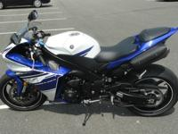 2014 Yamaha R1 with 2,350 miles. Bike does not have a