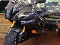 2014 Yamaha YZF-R6 with extras. For sale is my Matte