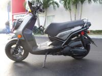 This is an excellent looking 2014 Yamaha Zuma 125. This