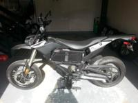 2014 Zero FX ZF 5.7 Electric Motorcycle... LIKE NEW ...