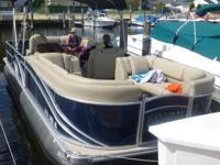 2014 Pontoon Boat         4- Sale   Asking: $31,400